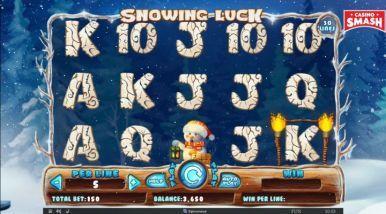 Video Slot Machine Snowing Luck
