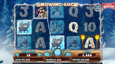 Online Slots Game Snowing Luck