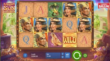 Video Slot Machine Kingdom Of The Sun Golden Age