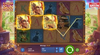 Online Slots Game Kingdom Of The Sun Golden Age