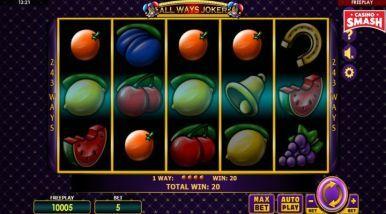 Video Slot Machine All Ways Joker
