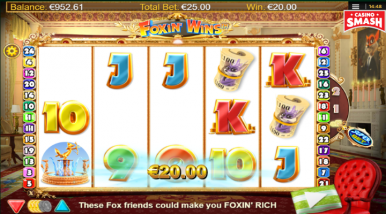 Online Slots Game Foxin Wins HQ