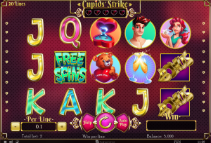 Cupids Strike Slot