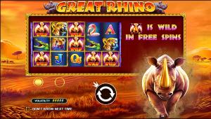 Great Rhyno Slot