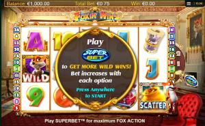 Foxin Wins HQ Slot