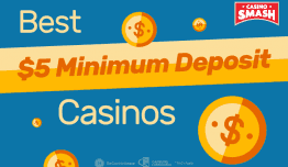 $5 Deposit Casinos: Best Casinos That Accept $5 Deposits