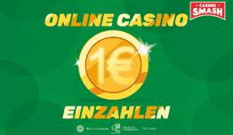 Im Online Casino 1 Euro einzahlen