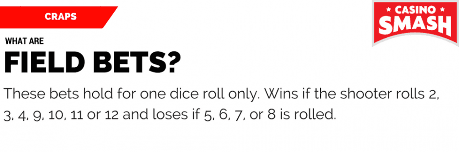 Craps Rules & Strategy: Field Bets