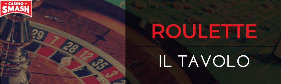 il tavolo della roulette