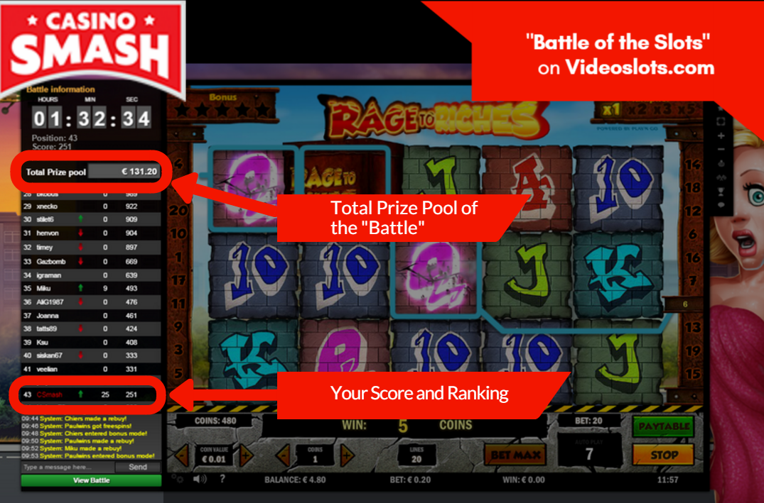 Slot Games & Battle of Slots