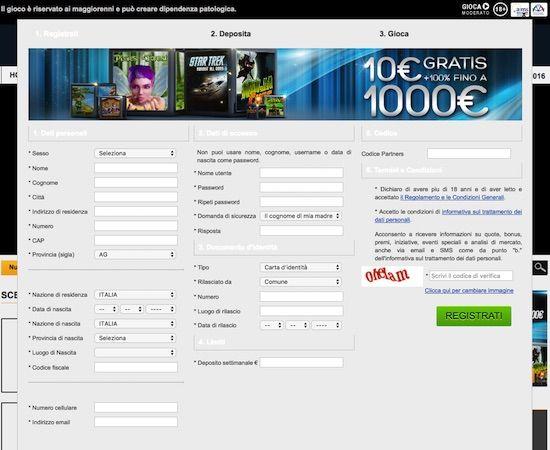 Apri un Conto su Netbet Casino