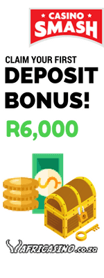 Africasino's Welcome Bonus: 300% up to R6,000!