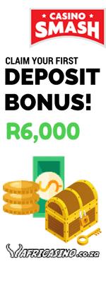 Africasino's Welcome Bonus: 300% up to R6,000!