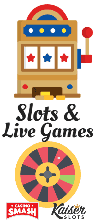 Available Games and Software at Kaiser Slots Casino