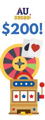 AU Slots' 1st Bonus Option: Casino Cashback