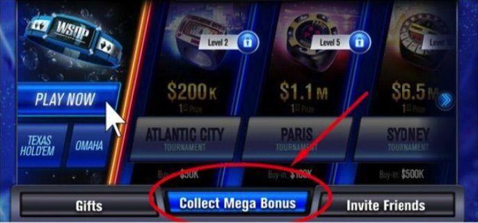 WSOP Mega Bonus
