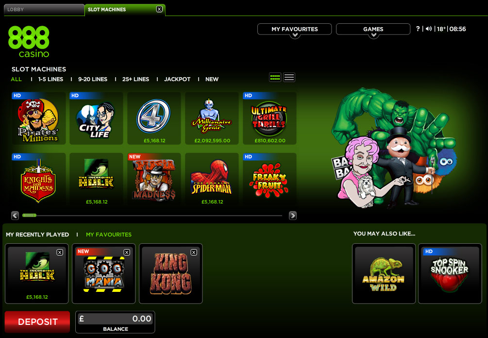online casino 888 300 gaming pc