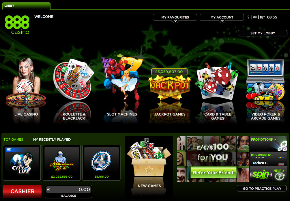 casino online 888 com book wheel