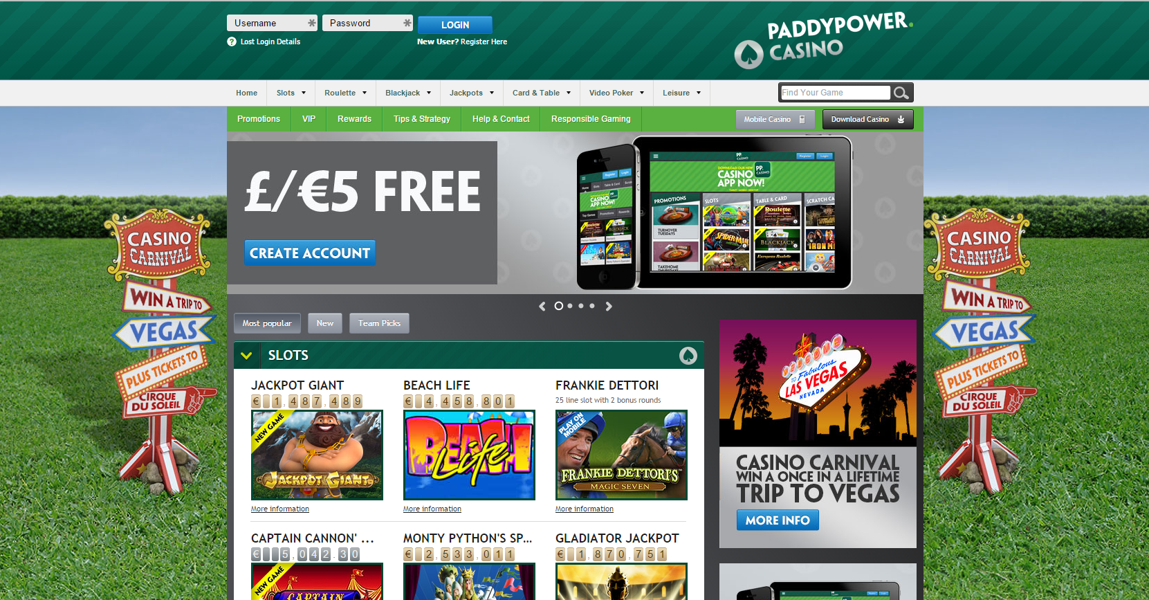free online casino bonus for all new players