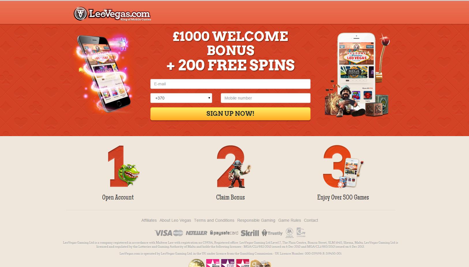 Leo Vegas Casino Review - Leo Vegas™ Slots & Bonus | leovegas.com