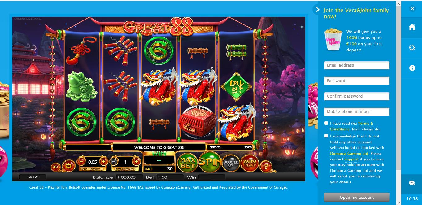 online casino vera