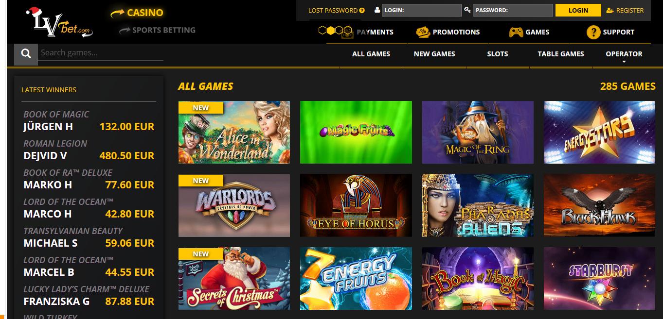LVbet Casino Review - LVbet™ Slots & Bonus | lvbet.com