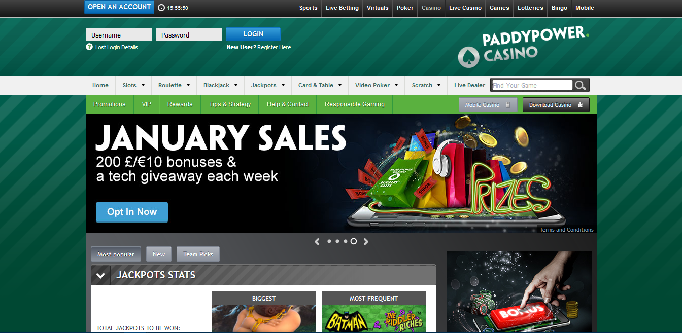 Paddy power casino bonus