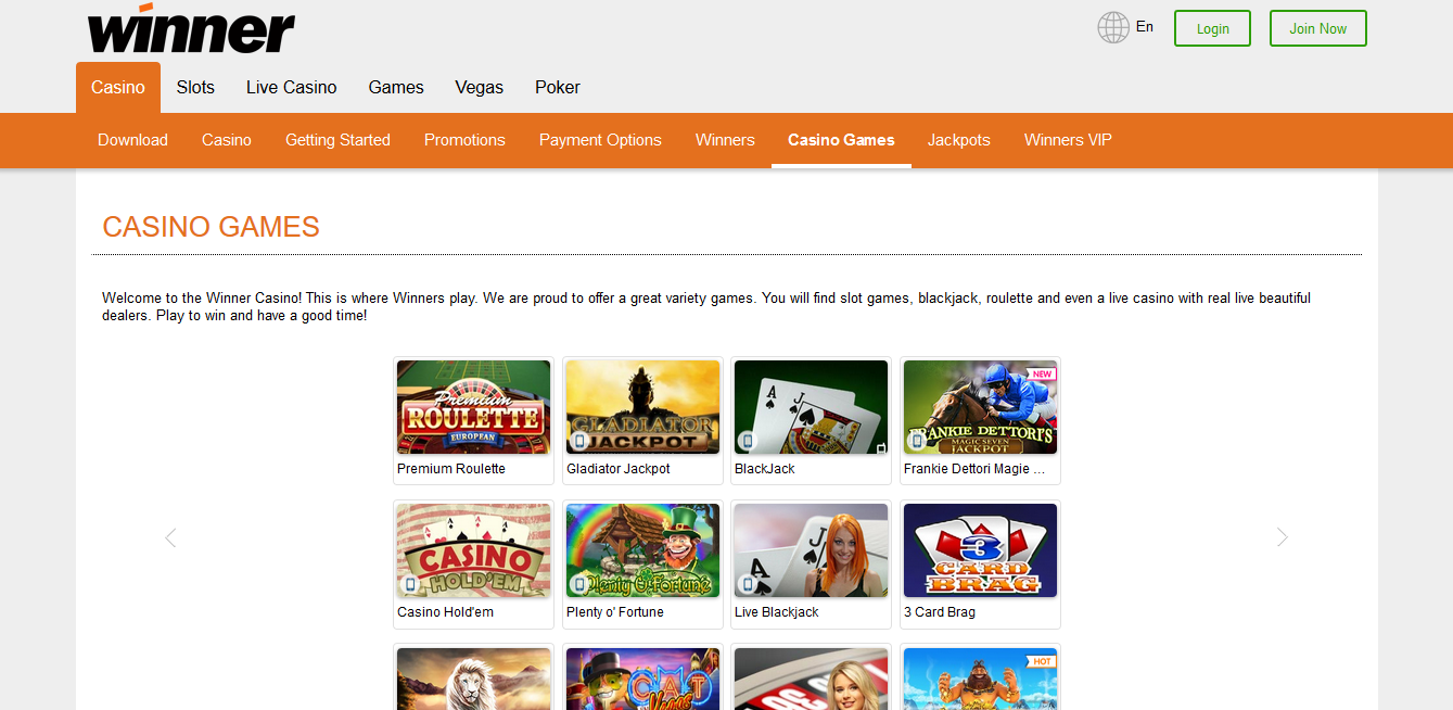 Winner casino no download poker heaven android