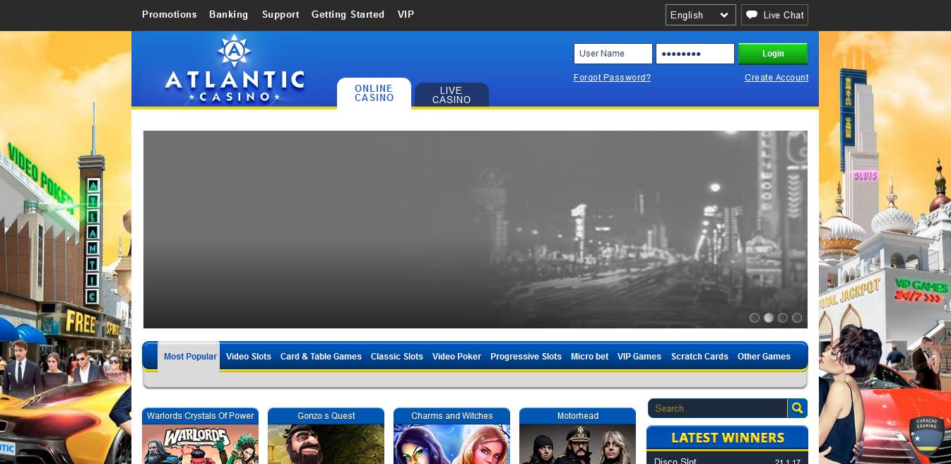 Atlantic Casino Club Review