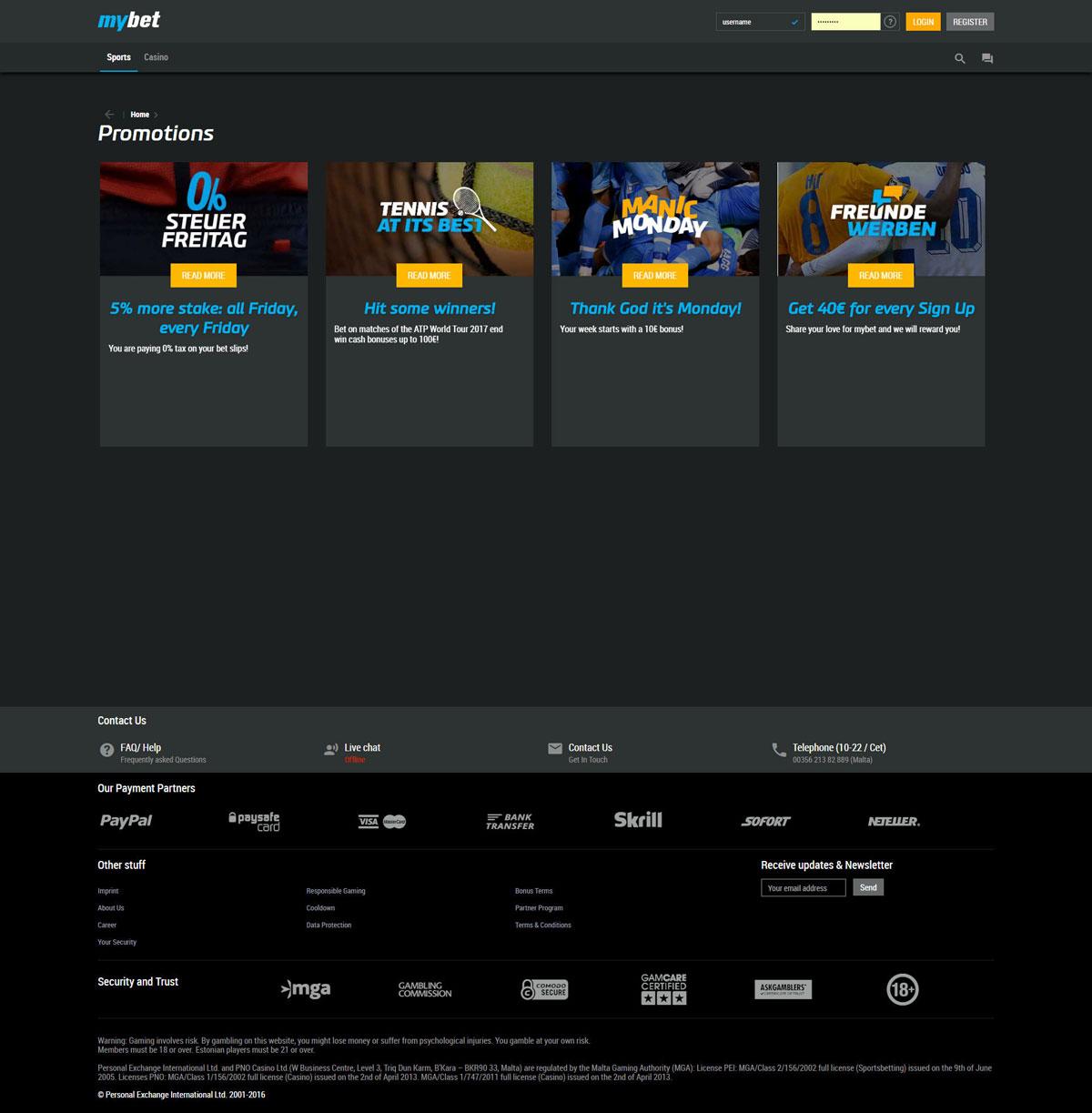 casino mybet.com