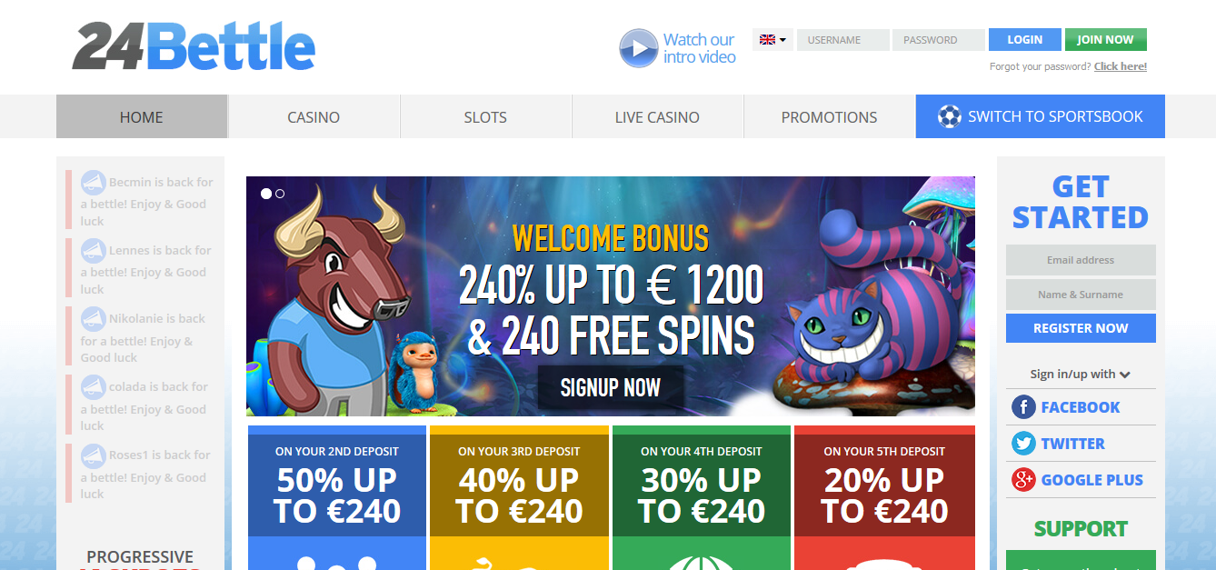 24Bettle Casino Review