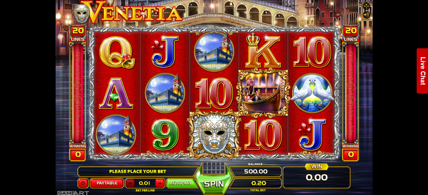 king billy casino login