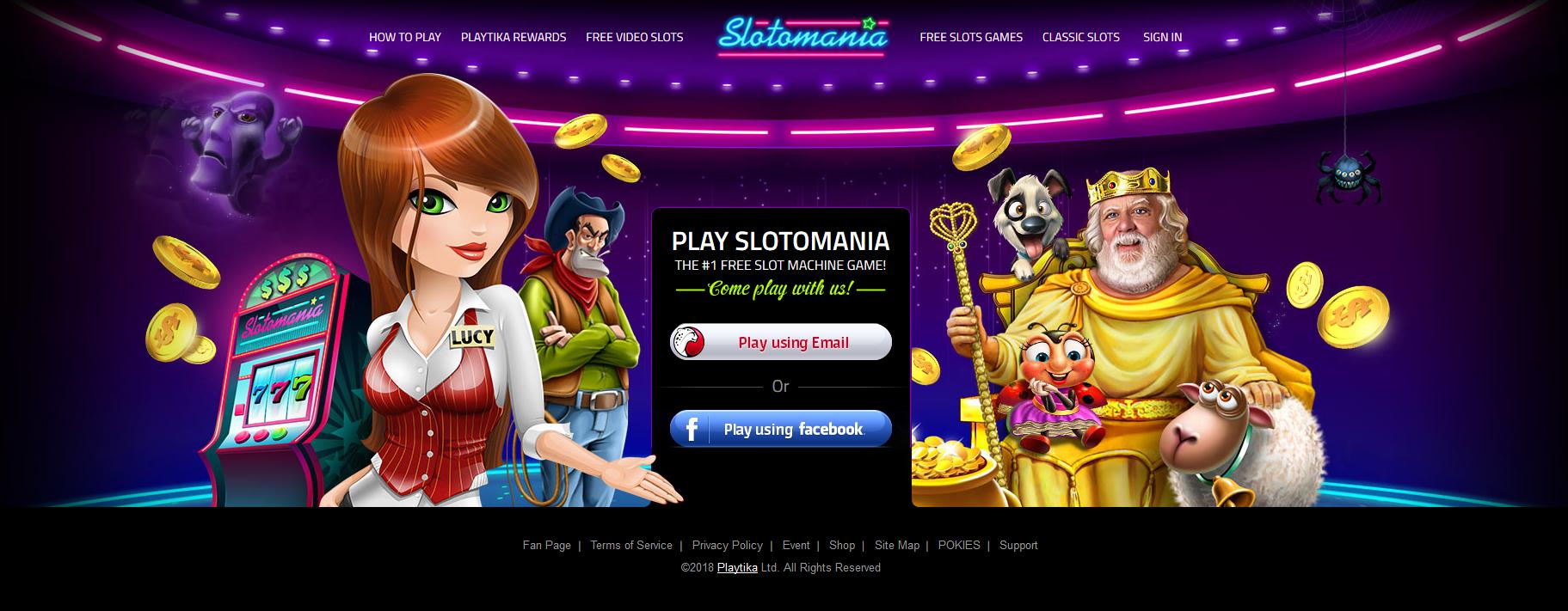 Slotomania Online Casino Activate 20 000 Free Coins Bonus