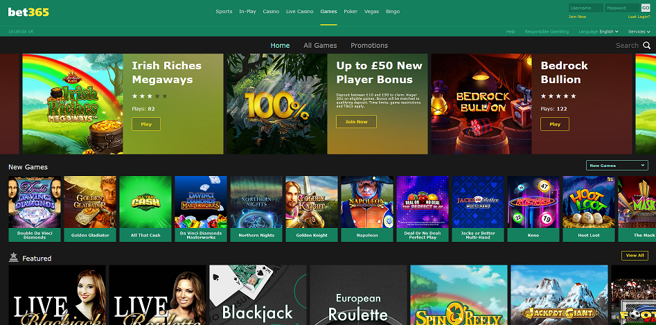 The Top 5 bet365 Product Features According to our Reviewer