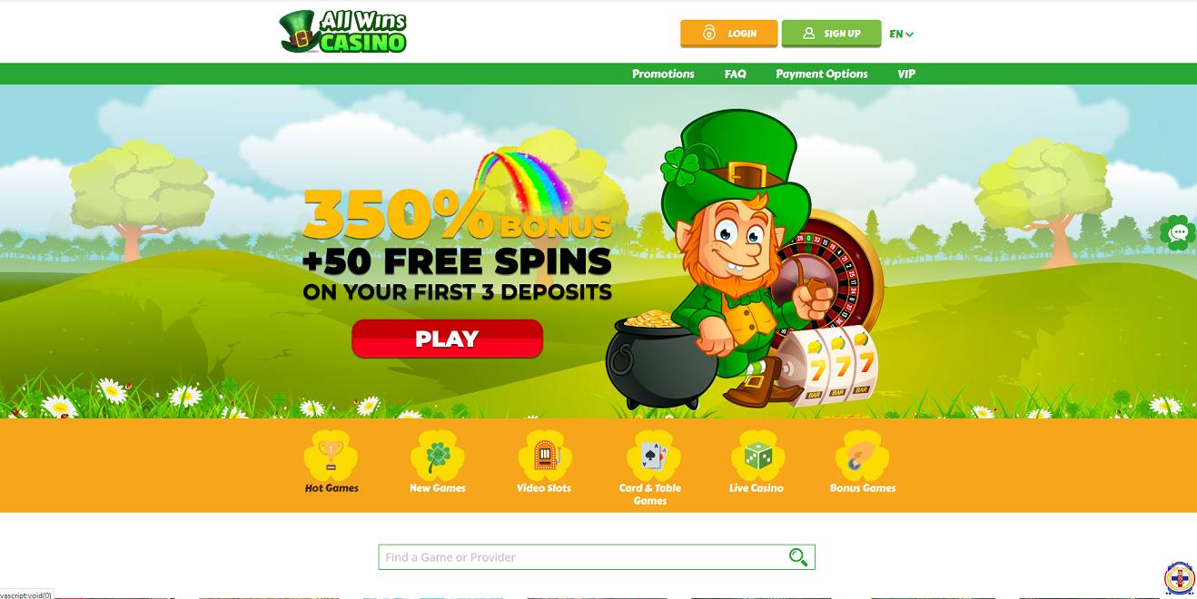 All Wins Casino Bonus Review