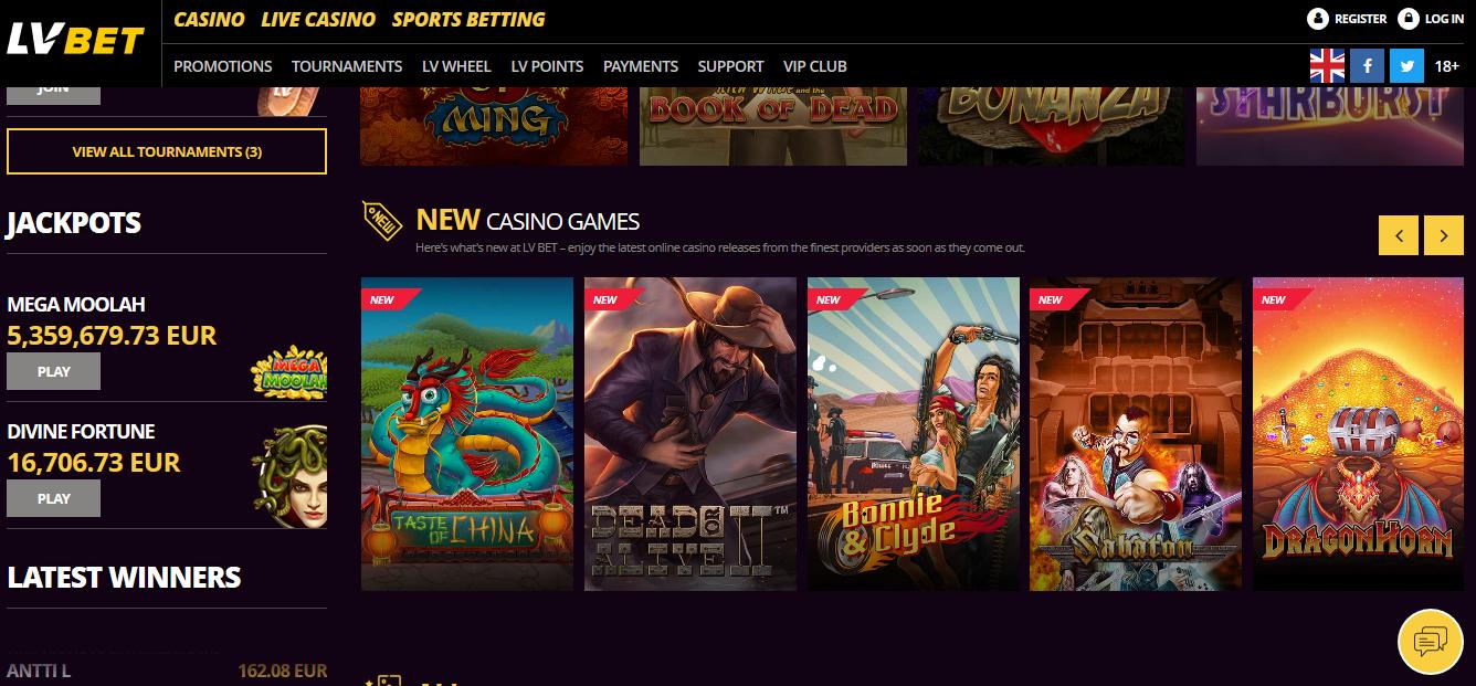 best online casino payouts nj