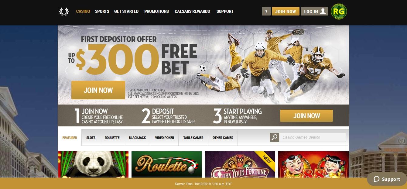 Caesars Online Casino Nj Review