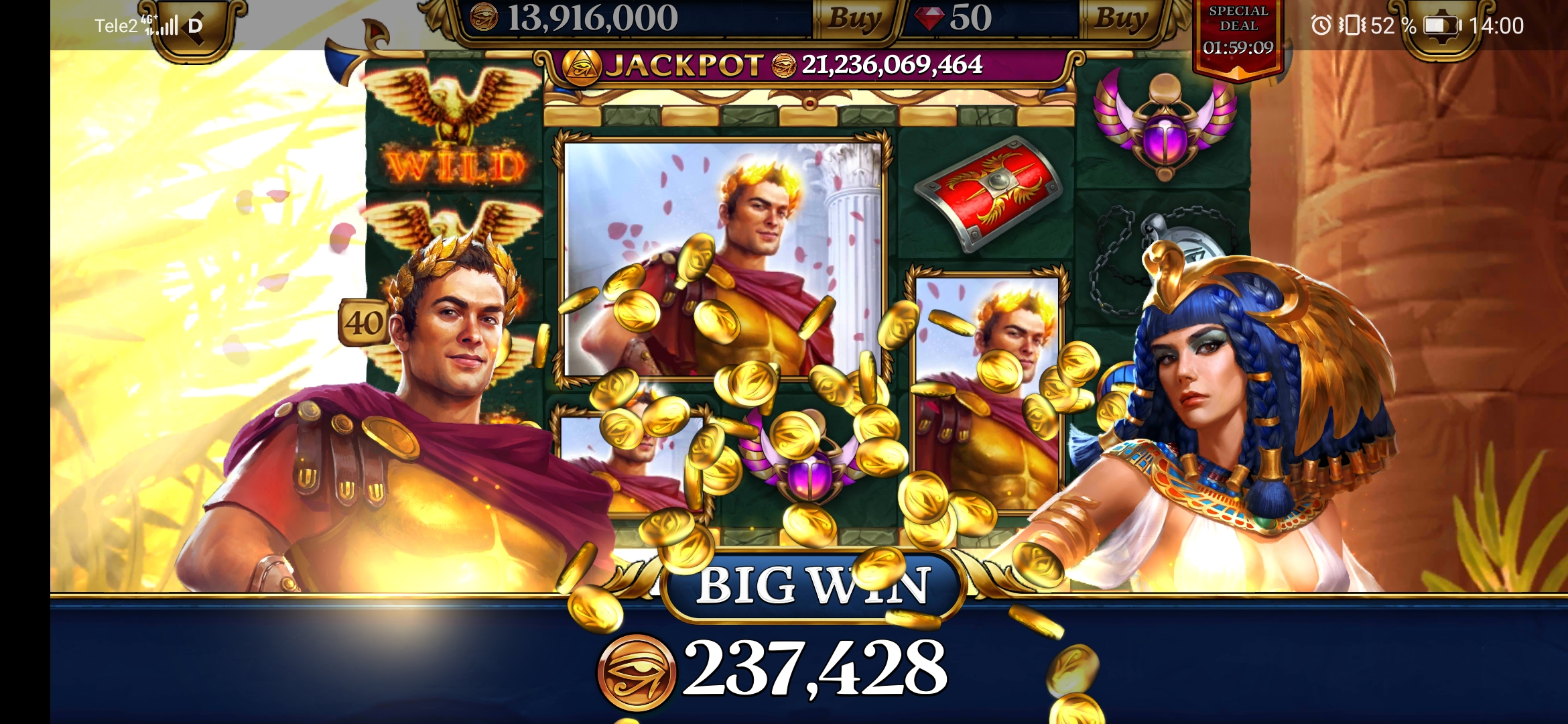 Slots Era free coins – This is a complete set of exciting mini-games.Using cheat codes for Slots Era is very simple, see information below.Everything, that for you it is necessary, thus to pick up the vending device, to make the conditional bet and to press in a key.