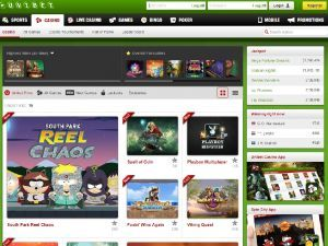 Unibet casino list of games