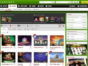 unibet casino screenshot 2