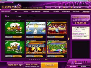 screenshots of slots magic