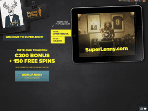 screenshot of Superlenny room