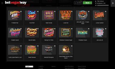 Big welcome bonus on Betway Casino!