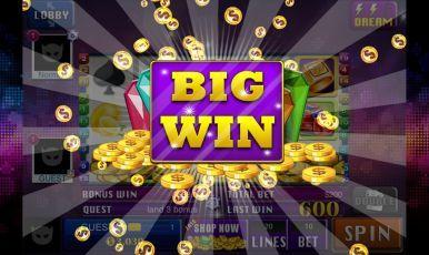 Big Win on slot machine!