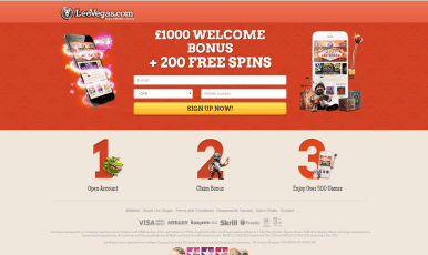 Get 200 Free Spins and  €1000 welcome bonus on LeoVegas Casino!