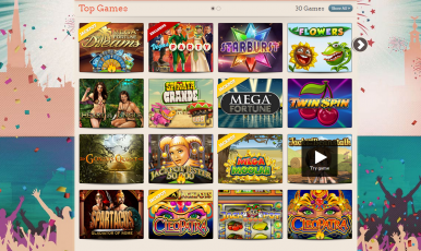 These are games you could expect on leovegas.com.