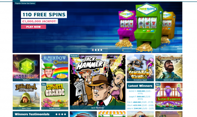 PrimeSlots casino offers 100 Free Slots and very big JACKPOT of 1 million euros!