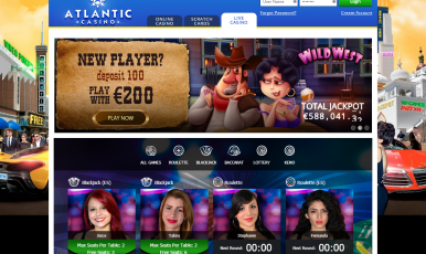 What bonuses you could expect on atlantic club casino online?
