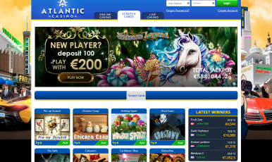 Get the biggest bonus for atlantic club room!