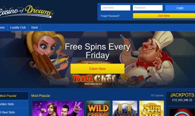 Casino of Dreams 100 Spins